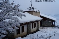 chapelle montchavin en hiver