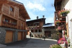 village fleuri : Montchavin
