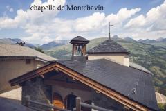 chapelle montchavin en été