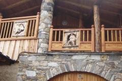 balcon sculpté
