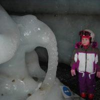 Des grottes de glace