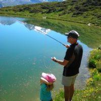 Le lac du Carroley : entre pêche et balade