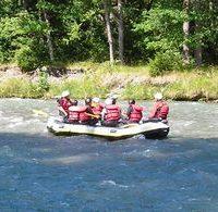 Rafting dans l'Isère